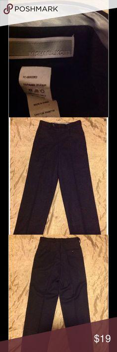 MIchal kors black pants size 12 formal wedding Michale kors dress pants black MICHAEL Michael Kors Pants Dress