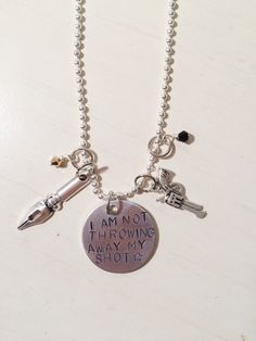 """This badass necklace. 