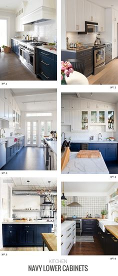 Except black cabinets on bottom, white on top. Love the white countertop and subway tiles