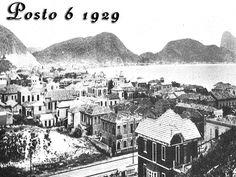 Fotos antigas do Rio de Janeiro - Posto 6 - 1929