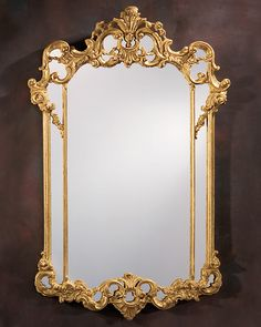 pictures of mirrors | - mirror - Neoclassic mirror - Neoclassic style carved wood mirror ...
