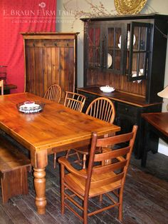 E. Braun Farm Tables And Furniture   We Custom Make Furniture For All Rooms  Of