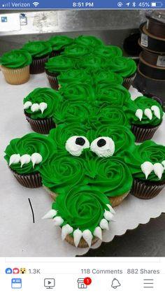Alligator Cupcakes, Buddy Valastro, Recipes From Heaven, Baby Boy Shower, Cupcake Cakes, Cake Decorating, Birthday Cake, Cake Ideas, Party