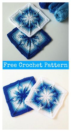 Arietis Square Free Crochet Pattern #freecrochetpatterns