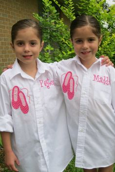 Dance Recital cover- up...must make one of these - too cute!!!