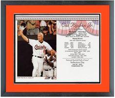 Cal Ripken Jr Baltimore Orioles Hall of Fame 7/29/07 Induction Day Card