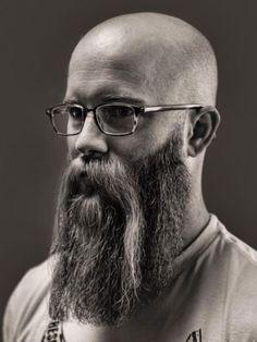 Classic Pics – The Beard Apostle Walrus Mustache, Beard No Mustache, Bald With Beard, Bald Man, Grey Beards, Long Beards, Long Beard Styles, Beard Head, Beard Shapes