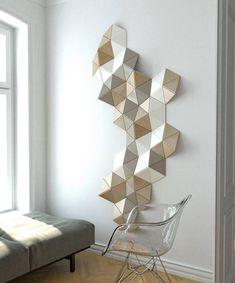 3D Wall Decoration sculpture 3d Wall Art wooden wall decor