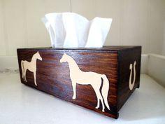 Arabian Horse tissue cover box