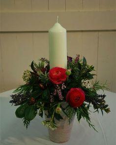 garden candle table