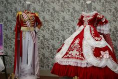 La Rose de Versilles costumes
