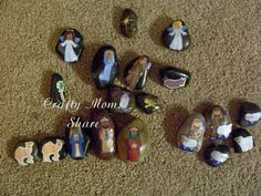 Story stones: Focus on the Nativity