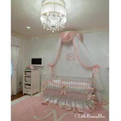 Barbie Baby Bedding Set for Luxury Princess Nursery Decor. http://littlebunnyblue.com/baby-bedding/girls-crib-bedding/barbie-baby-bedding/