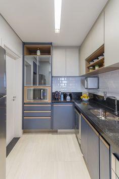 Simple Kitchen Design, Kitchen Room Design, Home Room Design, Home Decor Kitchen, Interior Design Kitchen, Kitchen Furniture, Home Kitchens, Kitchen Cupboard Designs, Showroom Interior Design