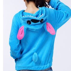 Lilo and Stitch Hoodies Disney Lilo and Stitch Sweatshirt Stitch Costume Pattern Sweatshirt Sweater Cosplay Coral Fleece Unisex on Etsy, $45.99