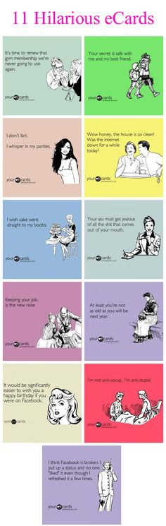 11 Hilarious #Ecards from SomeEcards.com- loveee this place!