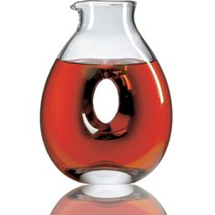 Crystal Torus Decanter ~Ravenscroft Crystal $60.99  http://www.shopravenscroft.com/ravenscroft-crystal-decanters/ravenscroft-crystal-torus-decanter.html