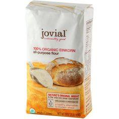 Jovial Einkorn Flour, Organic, 32 Ounce (Pack of 2)