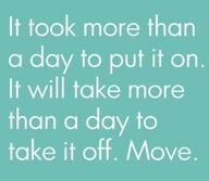 There's no such thing as overnight results when it comes to fitness!