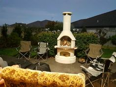 Introducing Buschbeck - the ultimate all in one BBQ, pizza oven, and outdoor fireplace. German-made quality and sold Australia-wide. Pizza Oven Outdoor, Bbq, Backyard, Outdoors, Kitchen, Barbecue, Patio, Cooking, Barrel Smoker