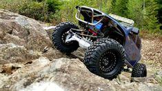 Vanquish Currie Portal Axles Test Run Portal Axles, Diecast, Remote, Monster Trucks, Running, Porto