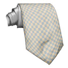 Two colored square pattern neck tie