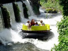 Alton Towers - River Rapids. Always a favourite of mine!
