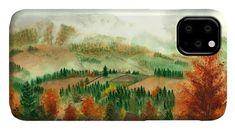 Transylvanian Autumn IPhone Case featuring the painting Transylvanian Autumn by Olivia C