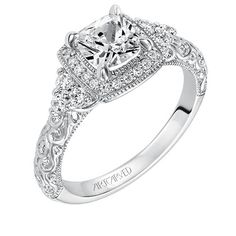 Artcarved Bridal: ALEXANDRA. Stunning! I left this image on our laptop today. It's the ring I've been dreaming about!
