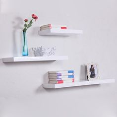 White Floating Shelf For Your Room