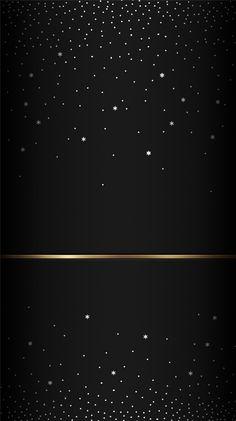 Wallpaper Gold Dots On Black Favorite Background In 2019