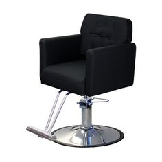 Sinclair Styling Chair - The Ecco Sinclair styling chair has both comfort and taste, with molded foam seats and fully upholstered arms. Hair Salon Chairs, Nail Salon Furniture, Spa Chair, Home Salon, Pedicure Spa, Barber Chair, Salon Ideas, Salons, Best Deals