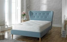 Aurora Fabric Bed Frame - Buy now in Ireland