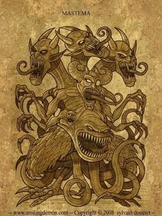 Pandemonium, about how I decided one day to draw 100 Demons out of the Abrahamic religion's mythology. Le Kraken, Myths & Monsters, Satanic Art, Angel Warrior, Demon Art, Occult Art, Goth Art, Angels And Demons, Dark Fantasy Art
