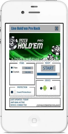 Live Hold'em Pro Hack 2016 ANDROID and iOS Cheats Online No Survey is such an incredible gambling club reproduction diversion,…