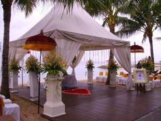 Outdoor Wedding Venue - Griya Santrian Sanur, Bali