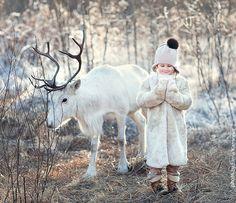 Russian Photographer Elena Karneeva Captures Magical Photos of Animals & Children Playing | Blaze Press