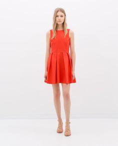 Image 1 of OPEN-BACK DRESS from Zara
