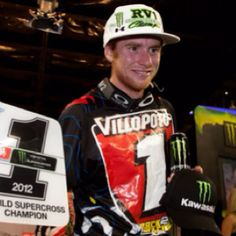 2012 Supercross Champion Ryan Villopoto.... #1 on the track  and my first motocross / supercross professional luv :-)