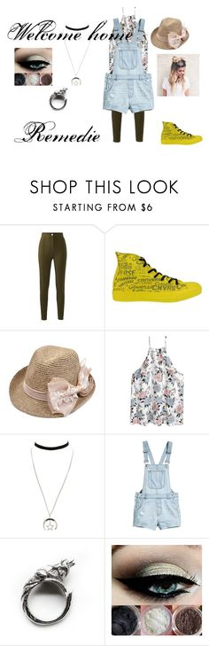 """Welcome home Remedie"" by crabbies on Polyvore featuring Converse and Charlotte Russe"