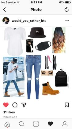 f8af18ebe1f 2313 beste afbeeldingen van BTS inspired outfits in 2019 - Fashion outfits
