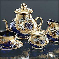 Decadent Tea Set...Bohemia Tea Set |
