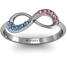 Anniversary gift. Normally I do not like the infinity symbol but this is an exception!!