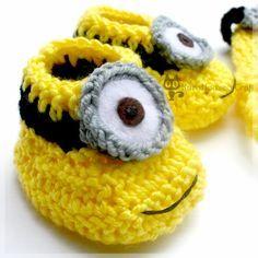 minion hat | lance minion baby booties jerry minion baby hat  image only. NO PATTERN