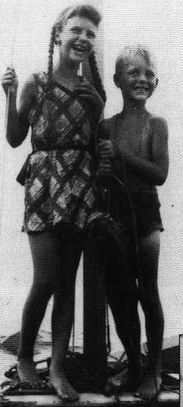Sylvia Plath and Warren, her brother