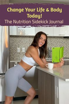 The Nutrition Sidekick Journal is your research-based book, journal, and coach all in one. Fully customizable to work with ANY eating style. Plan out what you want to eat each day, then record what you ACTUALLY ate to get held accountable. New tips, mindsets, and challenges every day to ultimately get you HAPPY with your body and to stick with your plan. Shop now! All In One, You Got This, Book Journal, Journals, Thick And Fit, Daily Challenges, Incredible Recipes, Healthy Eating Habits, Guided Meditation