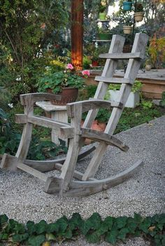 japanese rocking chair - by aviad mishaeli @ LumberJocks.com ~ woodworking community