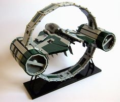 Lego Anakin's Jedi Interceptor with Hyperspace Ring