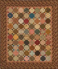 Grandma's Porch Quilt pattern by Carol Hopkins, Civil War reproduction fabrics