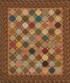 Grandma's Porch Quilt pattern by Carol Hopkins, Civil War reproduction fabrics